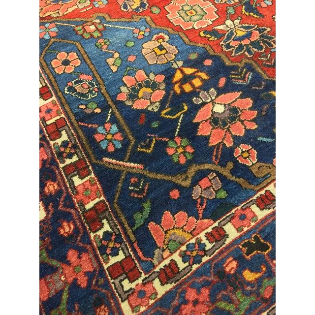 "Vintage Bellwether Rugs Persian Bactiari Area Rug - 6'9""x10'2"" - Image 10 of 11"