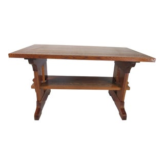 Paine Furniture Craftsman Oak Desk