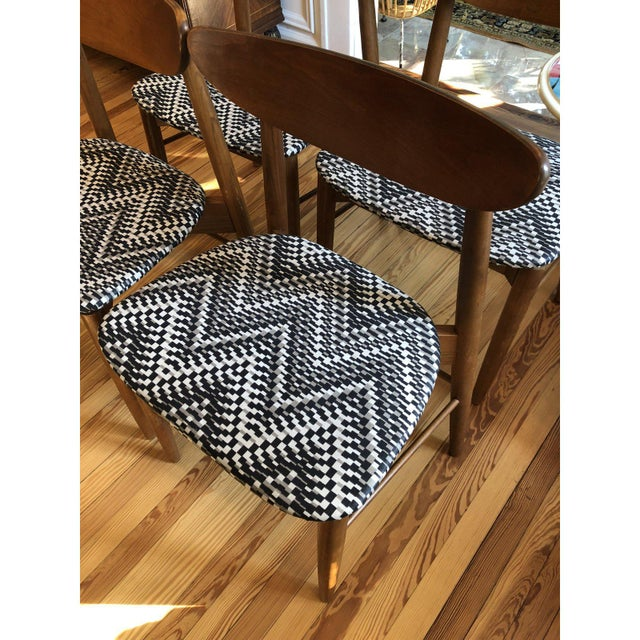 Danish Modern 1960's Danish Modern Harry Ostergaard Dining Chairs - Set of 4 For Sale - Image 3 of 10