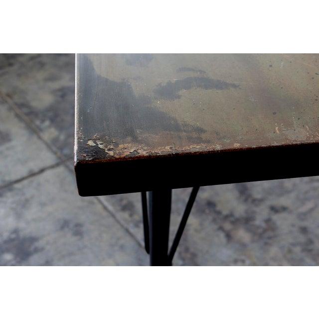 Mid-Century Patina Console Table, Rehab Original - Image 5 of 6
