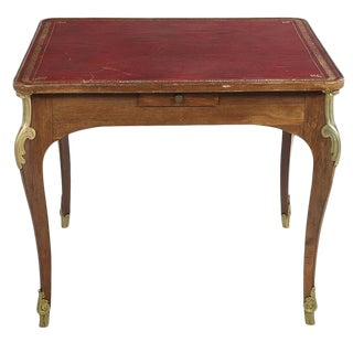 Louis XV-Style Fruitwood Games Table For Sale