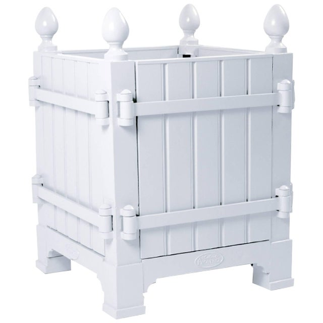 2010s French Caisse De Versailles Planter Box Medium Size For Sale - Image 5 of 5