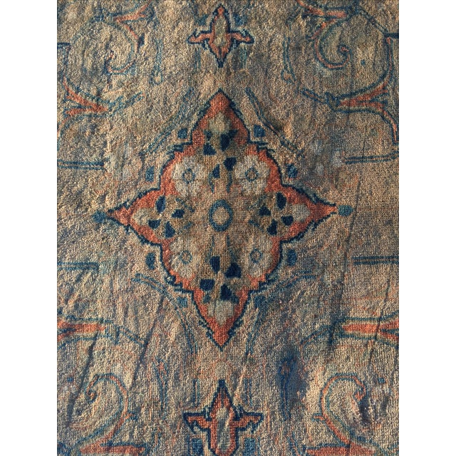 "Vintage Persian Mahal Runner - 3'6"" x 11' - Image 5 of 11"