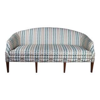 Kittinger Hepplewhite Bowback Mahogany Inlaid Sofa For Sale