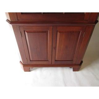 1930's Mahogany Corner Cabinet Preview