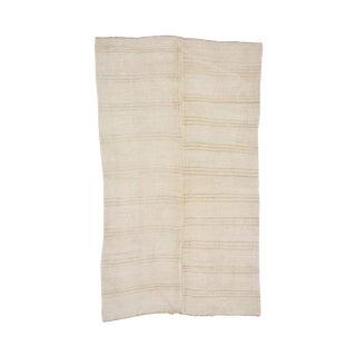 Striped Vintage Hemp Kilim Rug- 7′3″ × 12′6″ For Sale