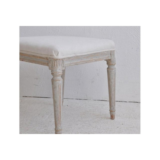 Mid-Century Modern 19th Century Pair of Swedish Late Gustavian Stools For Sale - Image 3 of 7