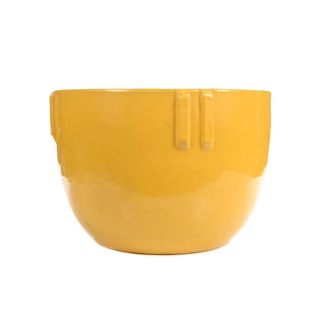 Bauer Original 1915 Indian Pot, Glazed Yellow - Image 8 of 9