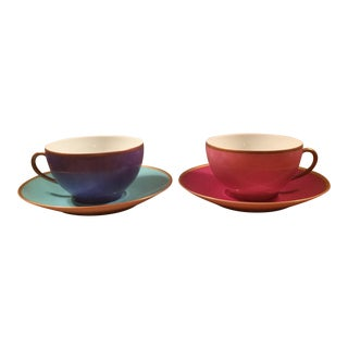 Marion Rebecca Paris Pair of Cup and Saucers