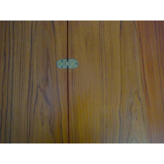 Dansk Dansk Lovig Flip-Top Teak Partners Desk or Table For Sale - Image 4 of 10