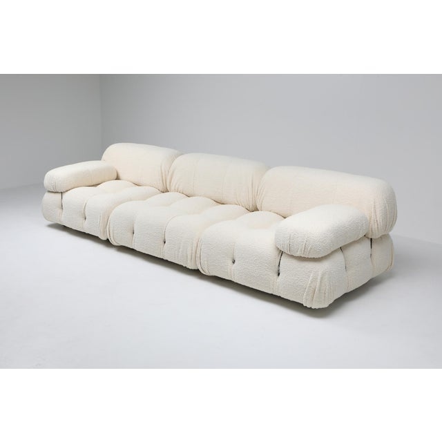1970s Camaleonda Bouclé Wool Sectional Sofa by Mario Bellini For Sale - Image 5 of 8