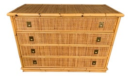 Image of Newly Made Rattan Chests of Drawers