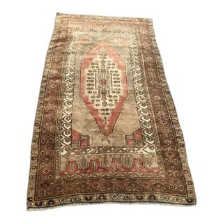 Vintage Anatolian Handknotted Rug For Sale