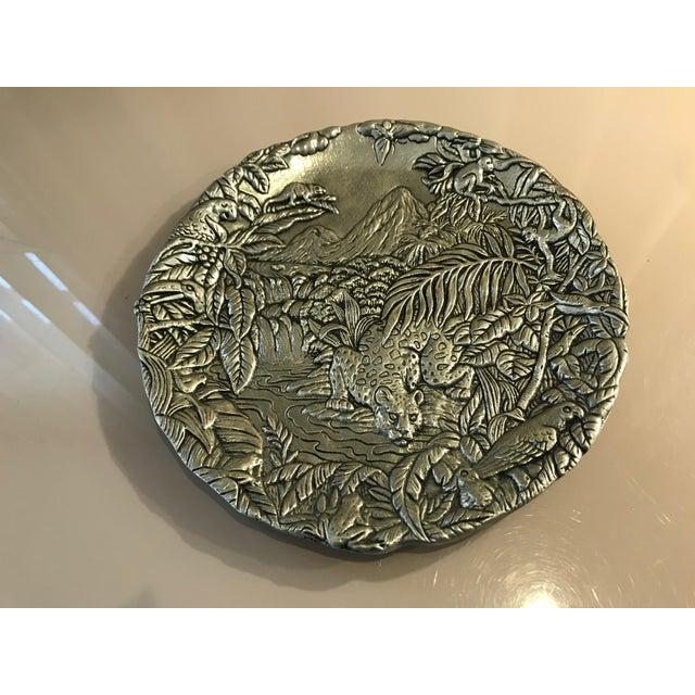 Arthur Court Jaguar Plate For Sale - Image 10 of 10