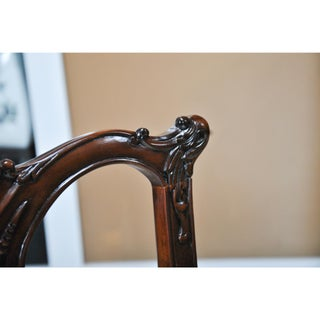 Gothic Mahogany Chippendale Arm Chair - a Pair Preview