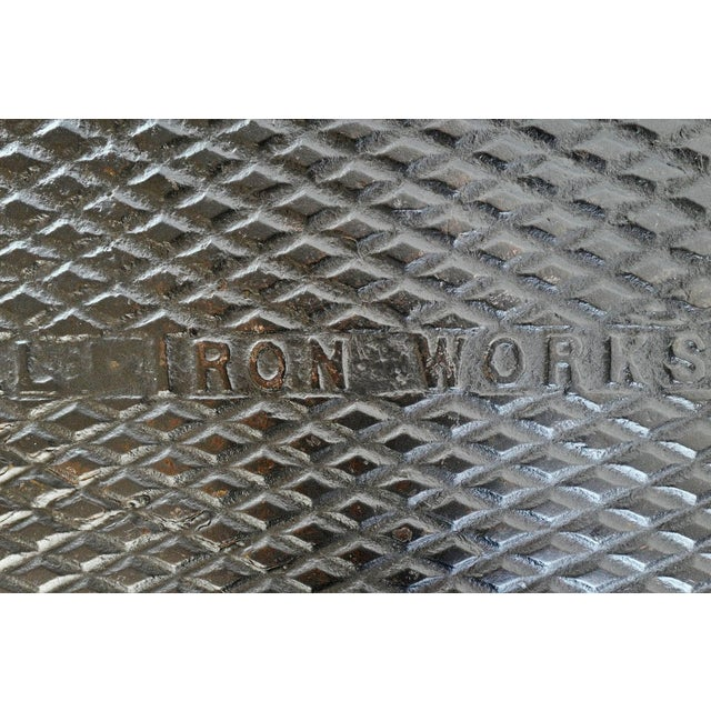 Industrial Iron Manhole Table For Sale In Los Angeles - Image 6 of 8