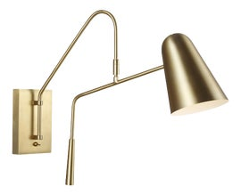 Image of Brass Bathroom Wall Lighting