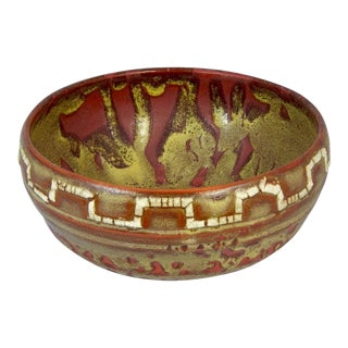 Relicware Ceramic Bowl #89 by Andrew Wilder For Sale