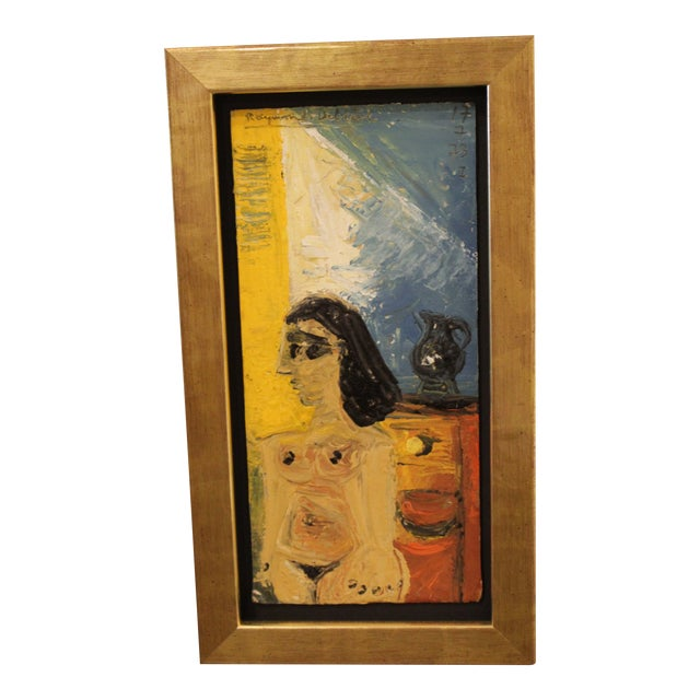 Raymond Debieve Nude Painting For Sale