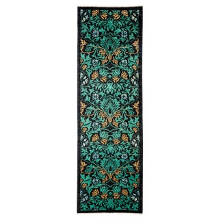 """Arts & Crafts Hand Knotted Runner - 3'0"""" X 9'9"""" For Sale"""