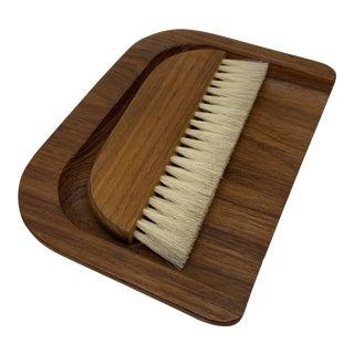 Mid Century Danish Modern Esa Crumb Brush and Pan For Sale