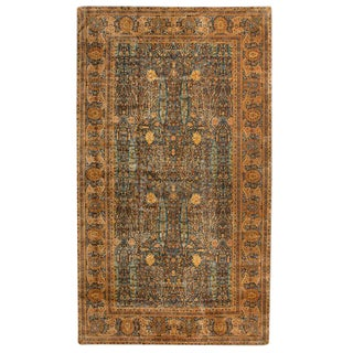 Antique Oversize North Indian Carpet For Sale