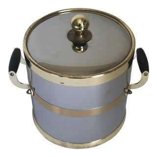 Vintage Kraftware Mid-Century Ice Bucket For Sale