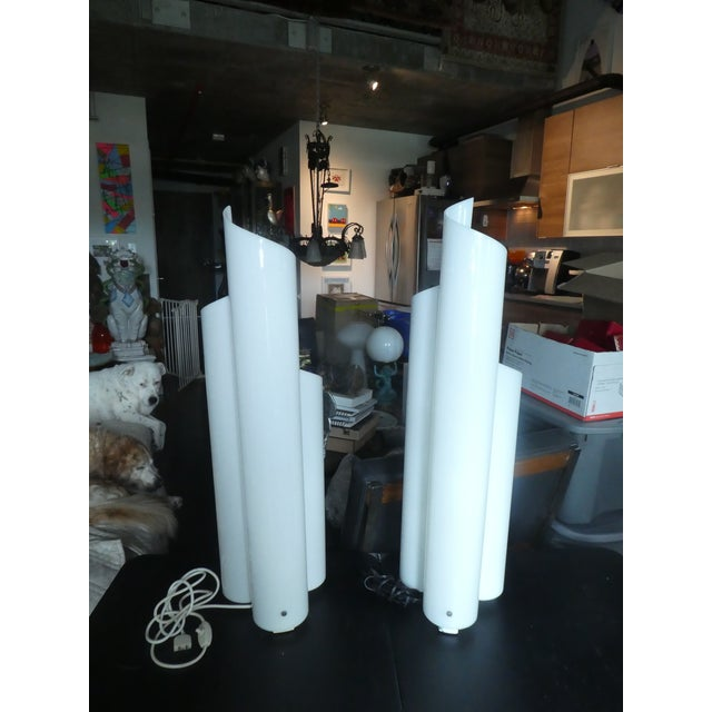 Pair of 1960's Artemide Chimera Lamps by Vico Magistrett For Sale - Image 9 of 9