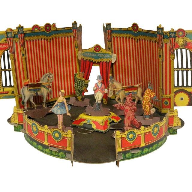 Antique 1920s Paper Circus Game Set - Image 2 of 9
