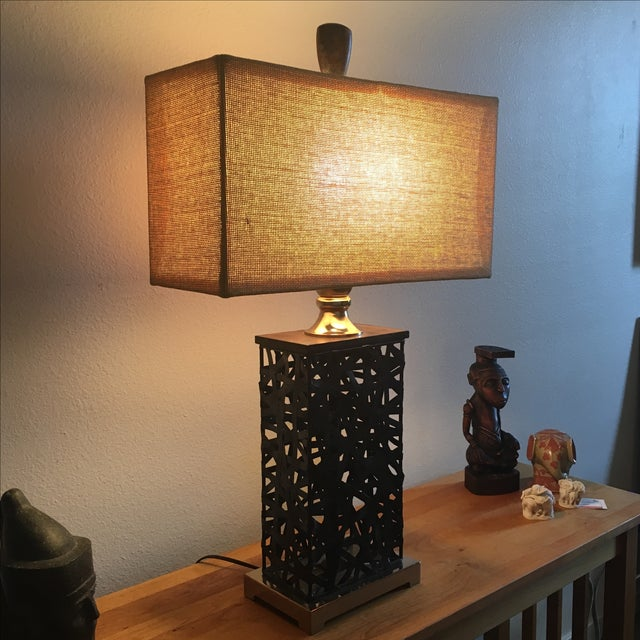 Asian Contemporary Lamp - Image 4 of 5