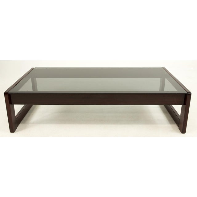 Brown Percival Lafer Brazillian Rosewood Coffee Table For Sale - Image 8 of 9