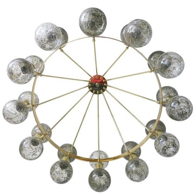 Italian Bailarina Chandelier For Sale - Image 3 of 8