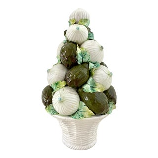 Vintage Italian Onions and Artichokes Topiary For Sale