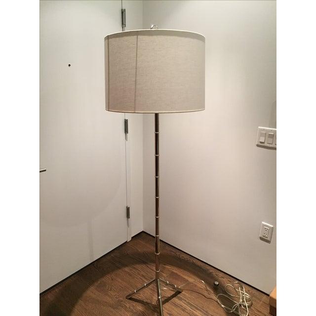 Jonathan Adler Meurice Silver Floor Lamp - Image 2 of 2
