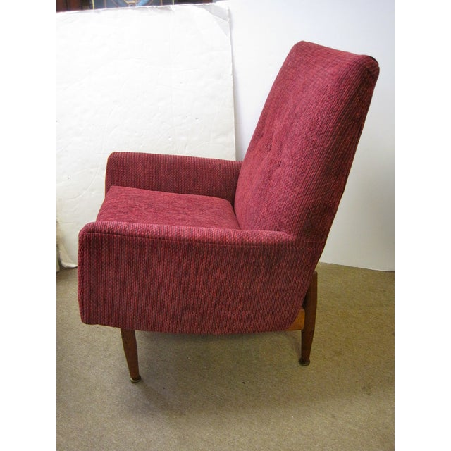 Jens Risom Male & Female Chairs & Ottoman - S/3 - Image 10 of 11