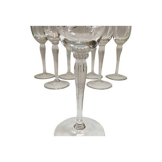Gorham Crystal Champagne Flutes Set Of 7 Chairish