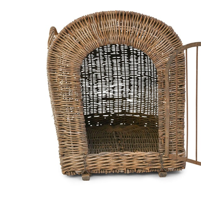English Wicker Dog Kennel For Sale - Image 10 of 13