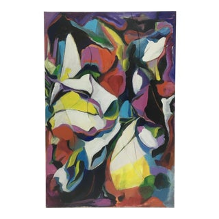 Deon Robertson Abstract Oil on Canvas For Sale