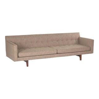 Bracket Back Sofa by Edward Wormley for Dunbar
