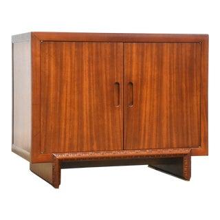 "Frank Lloyd Wright Mahogany ""Taliesin"" Credenza Cabinet For Sale"