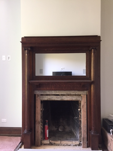 American Victorian Fireplace Mantel Chairish