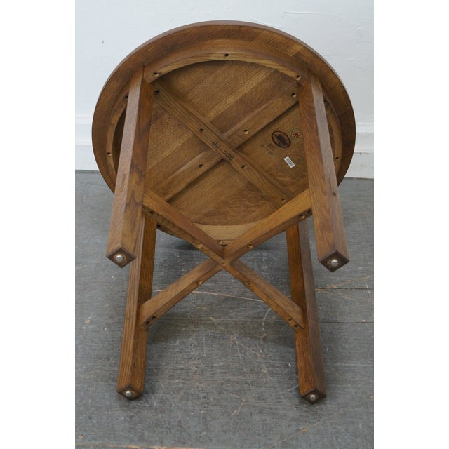 Stickley Stickley Mission Oak Side Table For Sale - Image 4 of 10