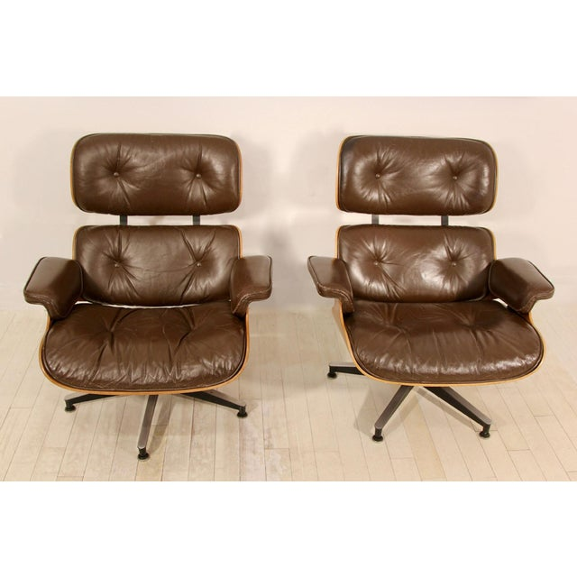 Eames 670 Lounge Chairs for Herman Miller - A Pair - Image 2 of 9