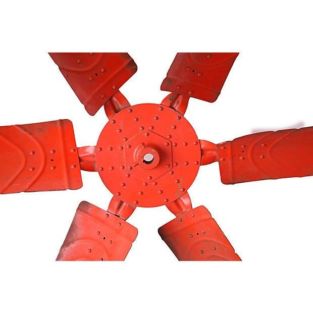"X-Large 60"" Industrial Orange Propeller - Image 4 of 5"