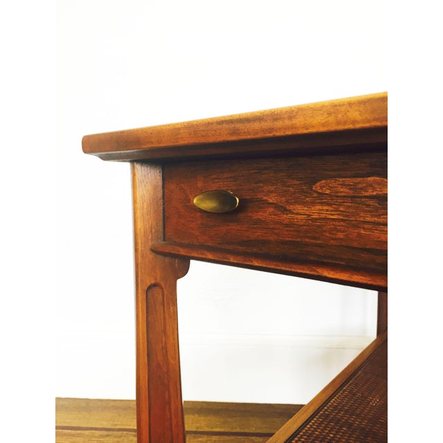 Imperial Mid-Century Wood Side Table - Image 5 of 7