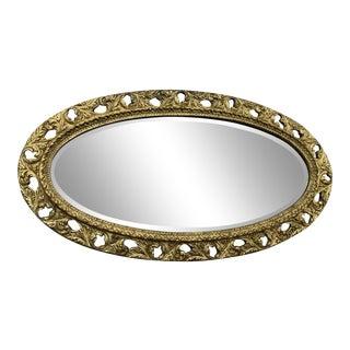 Vintage Gold Gilt Mirror For Sale