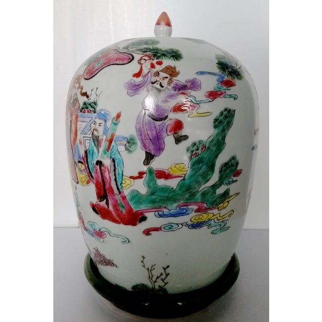 Antique Chinese Ceramic Melon Jar - Image 2 of 7