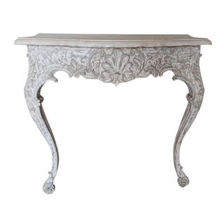 1930s Painted French Console