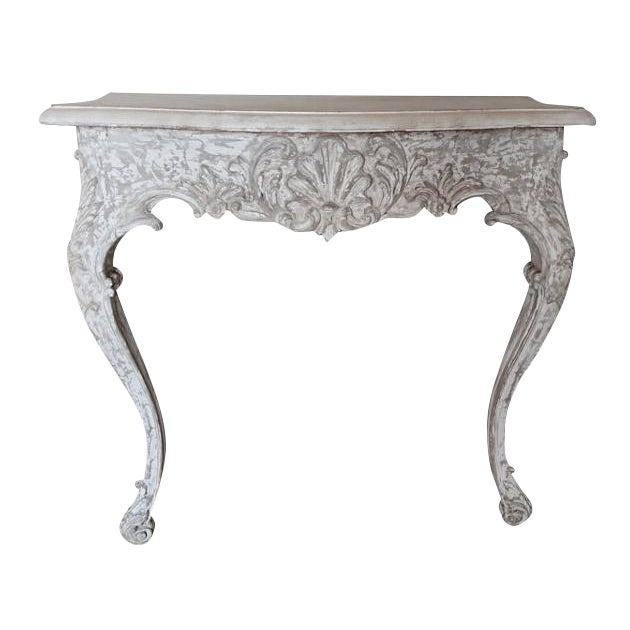1930s Painted French Console - Image 1 of 7