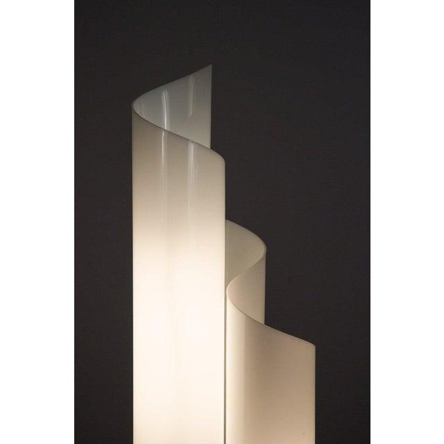 Acrylic Mid 20th Century Vico Magistretti Mezzachimera Lamp For Sale - Image 7 of 11
